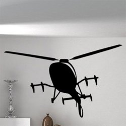 Samolepky na zeď Vrtulník 0869