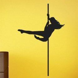 Samolepky na zeď Pole dance 0979