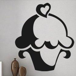 Samolepky na zeď Cupcake 0071