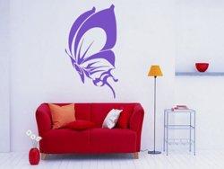Samolepky na zeď Motýl 017