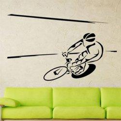 Samolepky na zeď Cyklista 1035