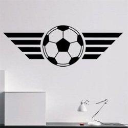 Samolepky na zeď Fotbalový míč 004