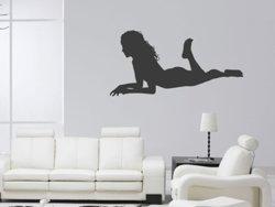 Samolepky na zeď Sexy žena 003