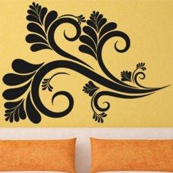 Samolepky na zeď Ornamenty z rostlin 032