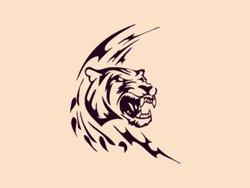 Samolepky na zeď Tygr 001