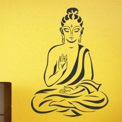 Samolepky na zeď Sedící Budha 1294