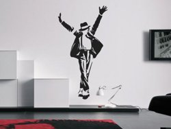 Samolepky na zeď Michael Jackson 003