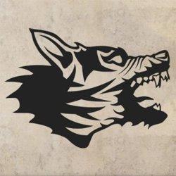 Samolepky na zeď Vlk 1418