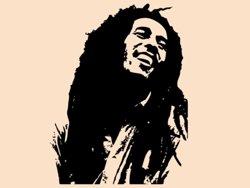 Samolepky na zeď Bob Marley 001
