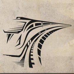 Samolepky na zeď Vlak 001