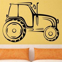 Samolepky na zeď Traktor 0714