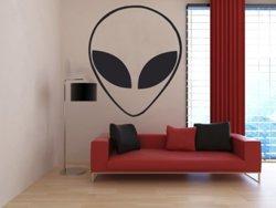 Samolepky na zeď Mimozemšťan 001