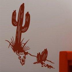 Samolepky na zeď Kaktus 001