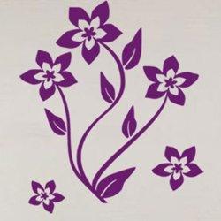 Samolepky na zeď Květiny 019
