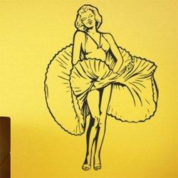 Samolepky na zeď Marilyn Monroe 1350
