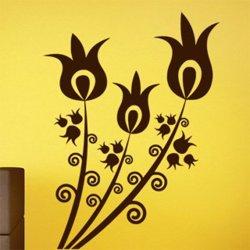 Samolepky na zeď Květiny 032