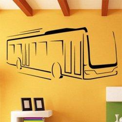 Samolepky na zeď Autobus 0786