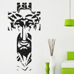 Samolepky na zeď Ježíš v kříži 1393