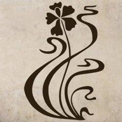 Samolepky na zeď Květiny 045