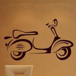 Samolepky na zeď Motorka 024