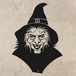 Samolepky na zeď Čarodějnice 002