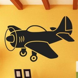 Samolepky na zeď Letadlo 0830