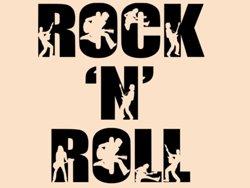 Samolepky na zeď Rock And Roll 003