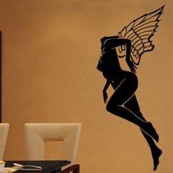Samolepky na zeď Dívka 008