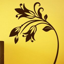 Samolepky na zeď Květiny 044