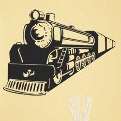 Samolepky na zeď Vlak 009