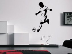 Samolepky na zeď Fotbalista 0587
