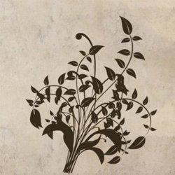 Samolepky na zeď Ornamenty z rostlin 014