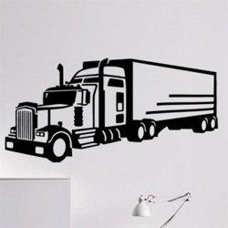 Samolepky na zeď Kamion 0749
