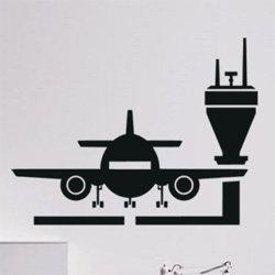 Samolepky na zeď Letadlo 0861