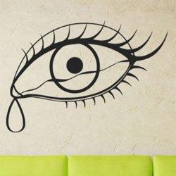 Samolepky na zeď Oko se slzou 1299