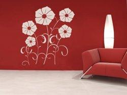 Samolepky na zeď Květiny 001