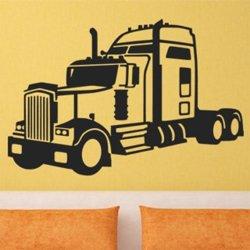 Samolepky na zeď Kamion 0750