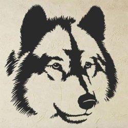 Samolepky na zeď Vlk 1406