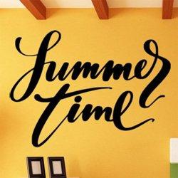 Samolepky na zeď Nápis Summer Time 0644