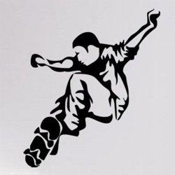 Samolepky na zeď Skateboardista 0953
