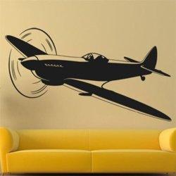 Samolepky na zeď Letadlo 0835