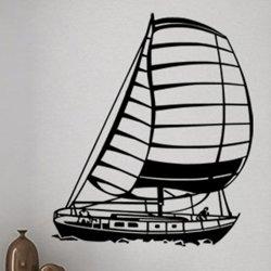 Samolepky na zeď Loď plachetnice 0921
