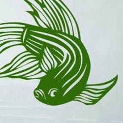 Samolepky na zeď Ryba 002