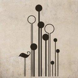 Samolepky na zeď Pták 009