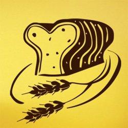 Samolepky na zeď Toastový chléb 0115