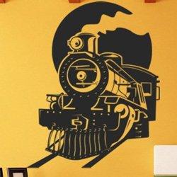 Samolepky na zeď Vlak 008