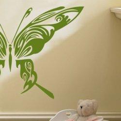 Samolepky na zeď Motýl 014