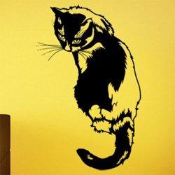 Samolepky na zeď Kočka 0480