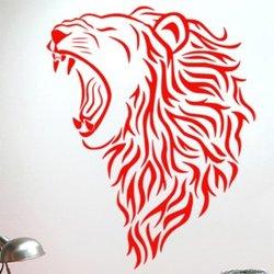 Samolepky na zeď Lev 007