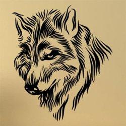 Samolepky na zeď Vlk 1407